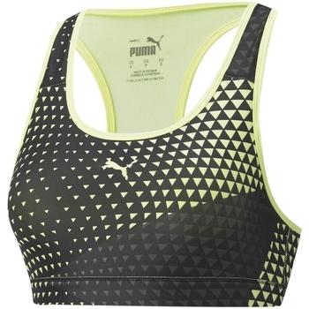 Textiel Dames Sport BHs Puma Mid Impact 4Keeps Graphic Grijs