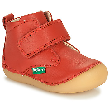Schoenen Kinderen Laarzen Kickers SABIO Rood