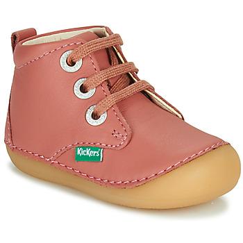 Schoenen Meisjes Laarzen Kickers SONIZA Roze