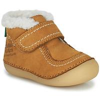 Schoenen Meisjes Laarzen Kickers SOMOONS  camel