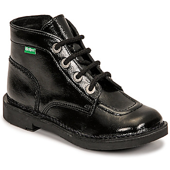 Schoenen Meisjes Laarzen Kickers KICK COLZ Zwart