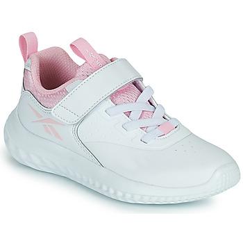 Schoenen Meisjes Lage sneakers Reebok Sport RUSH RUNNER Wit / Roze