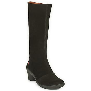 Schoenen Dames Hoge laarzen Art ALFAMA Zwart