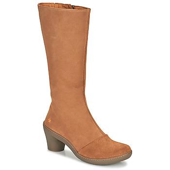 Schoenen Dames Hoge laarzen Art ALFAMA Brown