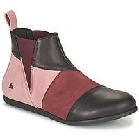 Schoenen Dames Laarzen Art LARISSA Violet / Zwart