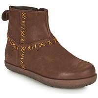 Schoenen Dames Laarzen Art RHODES Brown