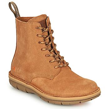 Schoenen Dames Laarzen Art MISANO Brown