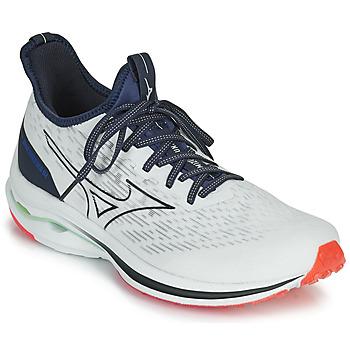 Schoenen Heren Running / trail Mizuno WAVE RIDER NEO Wit / Blauw