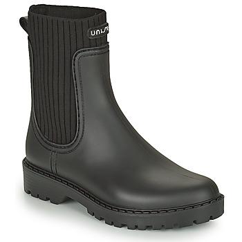 Schoenen Dames Regenlaarzen Unisa AYNAR Zwart