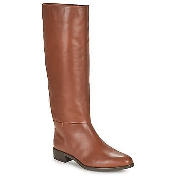 Schoenen Dames Hoge laarzen Unisa BLEND  camel