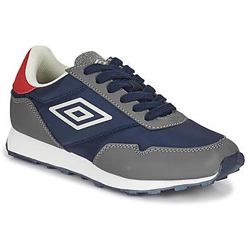 Schoenen Kinderen Lage sneakers Umbro KARTS LACE Grijs / Blauw