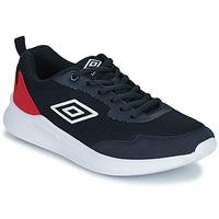 Schoenen Kinderen Lage sneakers Umbro LAGO LACE Blauw / Rood