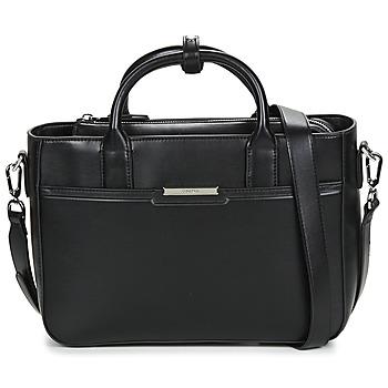 Tassen Dames Handtassen kort hengsel Calvin Klein Jeans FOCUSED TOTE MD Zwart