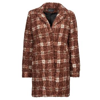 Textiel Dames Mantel jassen Chattawak BOBINO Rood / Wit