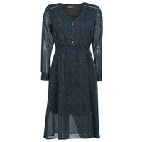 Textiel Dames Lange jurken Chattawak MAGNOLIA Marine