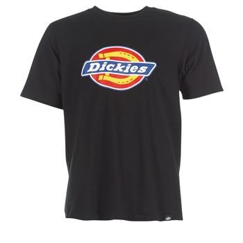 Textiel Heren T-shirts korte mouwen Dickies HORSESHOE Zwart