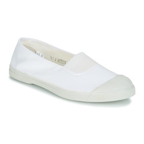 Schoenen Dames Lage sneakers Bensimon TENNIS ELASTIQUE Wit