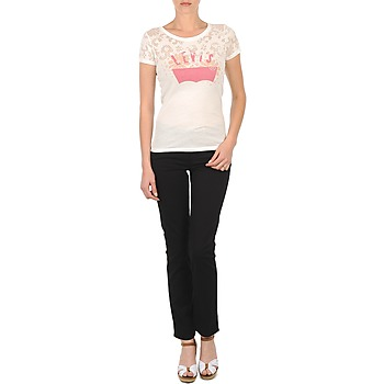 Textiel Dames Skinny jeans Levi's CL DC SLIM 5 PKT Zwart