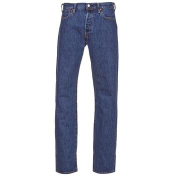 Textiel Heren Straight jeans Levi's 501® Levi's®ORIGINAL FIT Stonewash / 80684