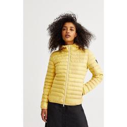 Textiel Dames Dons gevoerde jassen Ecoalf  Geel