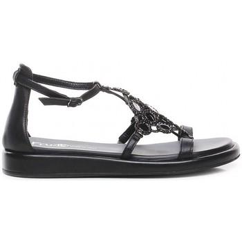 Schoenen Dames Sandalen / Open schoenen Now 6785 Zwart