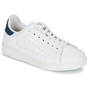 Schoenen Heren Lage sneakers Yurban SATURNA Wit / Marine