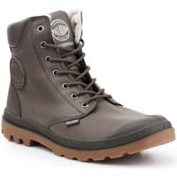 Schoenen Heren Hoge sneakers Palladium Manufacture Pampa HI Gris