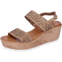 Schoenen Dames Sandalen / Open schoenen Femme Plus BJ895 Marron