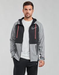 Textiel Heren Sweaters / Sweatshirts Nike M NK TF HD FZ NVLTY Zwart / Wit