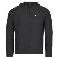 Textiel Heren Windjacken Nike M NK RPL MILER JKT Zwart / Zilver