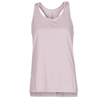 Textiel Dames Mouwloze tops Nike NIKE YOGA Violet