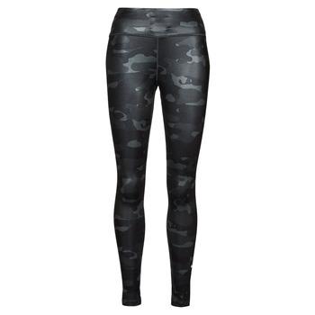 Textiel Dames Leggings Nike W NK ONE DF CAMO MR TGT Grijs / Wit