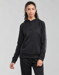 Textiel Dames Sweaters / Sweatshirts Nike W NSW PK TAPE PO HOODIE Zwart