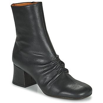 Schoenen Dames Enkellaarzen Chie Mihara MERU Zwart / Brown