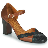 Schoenen Dames pumps Chie Mihara WABE  camel / Zwart