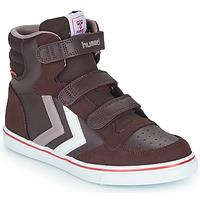 Schoenen Meisjes Hoge sneakers Hummel STADIL PRO JR Bordeaux
