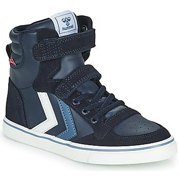 Schoenen Kinderen Hoge sneakers Hummel SLIMMER STADIL JR Blauw