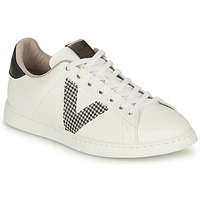 Schoenen Dames Lage sneakers Victoria TENIS VEGANA GAL Wit / Grijs
