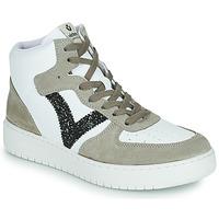 Schoenen Dames Lage sneakers Victoria SIEMPRE BOTIN SERRAJE Wit / Kaki