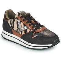 Schoenen Dames Lage sneakers Victoria COMETA MULTI Zwart / Brown