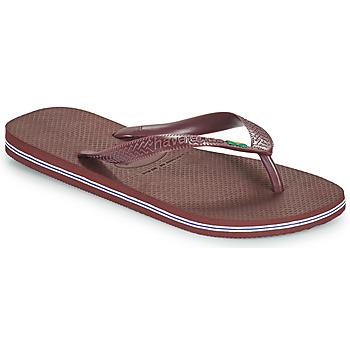 Schoenen Slippers Havaianas BRASIL Blauw