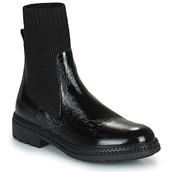 Schoenen Dames Laarzen Regard CALES Zwart