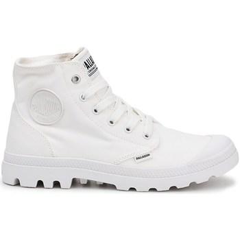 Schoenen Heren Hoge sneakers Palladium Manufacture Pampa HI Blanc