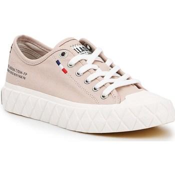 Schoenen Dames Lage sneakers Palladium Manufacture Ace Cvs U Beige