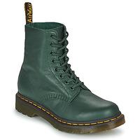Schoenen Dames Laarzen Dr Martens 1460 PASCAL Groen