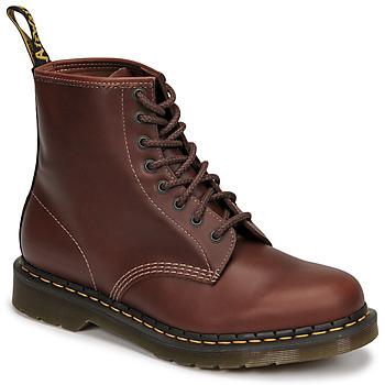 Schoenen Heren Laarzen Dr Martens 1460 Brown