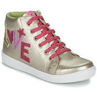 Schoenen Meisjes Hoge sneakers Agatha Ruiz de la Prada FLOW Beige / Roze
