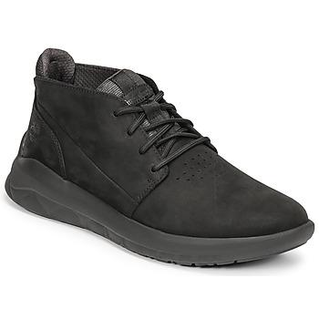 Schoenen Heren Hoge sneakers Timberland BRADSTREET ULTRA PT CHK Zwart