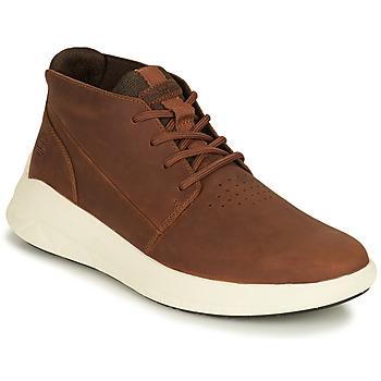 Schoenen Heren Hoge sneakers Timberland BRADSTREET ULTRA PT CHK Brown