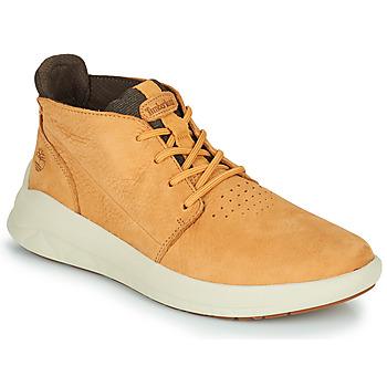Schoenen Heren Hoge sneakers Timberland BRADSTREET ULTRA PT CHK Beige